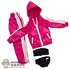 Clothing Set: In House Pink Female Windbreaker Set (IH-024PK)