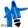 Clothing Set: In House Blue Female Windbreaker Set (IH-024BL)