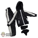 Clothing Set: In House Black Female Windbreaker Set (IH-024BK)