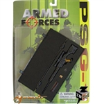 Carded Set: Merit 1/6 PSG-1 Sniper Rifle w/Case