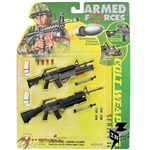 Carded Set: Merit 1/6 Colt Weapon Series II