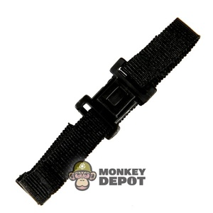 Belt: Merit Black Nylon
