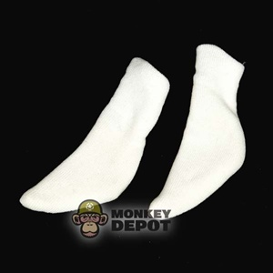 Socks: Merit White