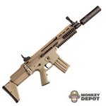 Rifle: Merit SCAR-L Mk16 CQB w/Silencer