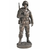 "Statue: 1/6 Khaki Army ""Baptism of Fire"" USMC Bougainville WW2"