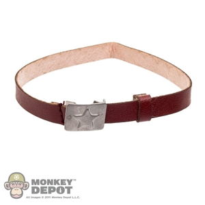 Belt: KGB Hobby Soviet Leather Belt