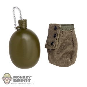 Canteen: KGB Hobby Soviet Canteen w/Pouch