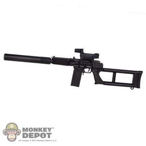 Rifle: KGB Hobby VSK-94 Sniper Rifle w/Silencer & Kobra EKP-1S-03 Optical