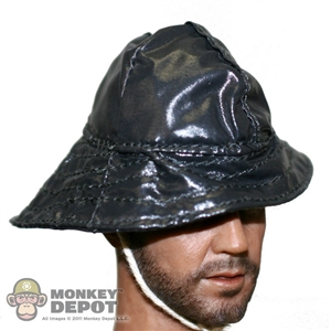 Hat: King's Toys German WWII Sou'wester Rain Cap