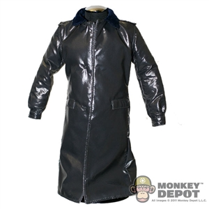 Coat: King's Toys German WWII Leatherlike Overcoat