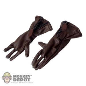 Gloves: King's Toys Brown RAF 1933 Pattern Flying Gauntlets