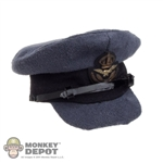Hat: King's Toys Blue RAF Officer's Service Dress Peaked Cap