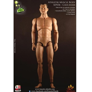 Figure: Kaustic Plastik 1/6 Athletik Male Body with Head Sculpt (Caucasian) (KP03B)