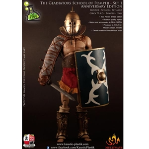 Boxed Figure: Kaustic Plastik The Gladiator School of Pompeii - Anniversary Edition (KP0004)