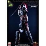 Boxed Figure: Kaustic Plastik Gladiator School of Pompeii (2nd Anniversary Edition) (KP0042)