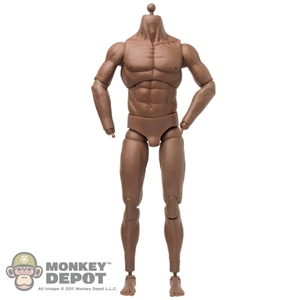 Figure: Kaustic Plastik Athletik Male Body (African American) (No Head or Hands)