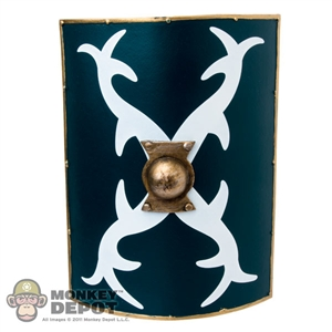 Shield: Kaustic Plastik Gladiator Shield Green