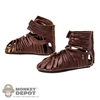 Shoes: Kaustic Plastik Leather Sandals