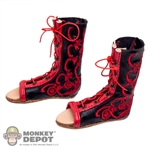 Boots: Kaustic Plastik Parade Calcei Shoes