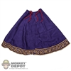 Cape: Kaustic Plastik Embroidered Purple Cape
