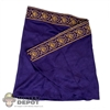 Cape: Kaustic Plastik Embroidered Purple Toga