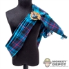 Sash: Kaustic Plastik Blue Scottish Sash