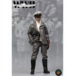 Boxed Figure: King's Toys WWII German U-BOAT Captain (KT-8003A)