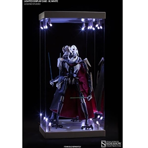 Display Case: Legend Studio Lighted Display Case - XL White (902155)