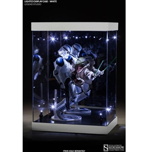Display Case: Legend Studio Lighted Display Case - Regular White (902153)