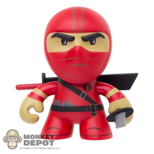 "Boxed Figure: The Loyal Subjects 3"" SUPER RARE Red Ninja (Series 1)"