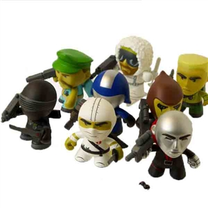 "Boxed Figure: The Loyal Subjects 3"" Complete Set of 8 (Series 1)"