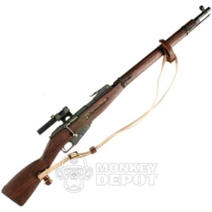 Rifle: Ti-Lite Russian WWII Mosin Nagant Sniper Metal and Wood
