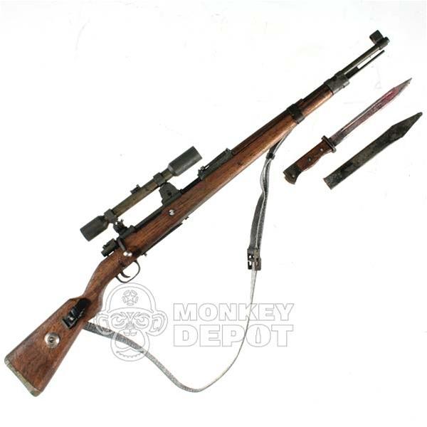 Rifle Ti Lite German Wwii Kar98 K98 Sniper Real Metal And Wood