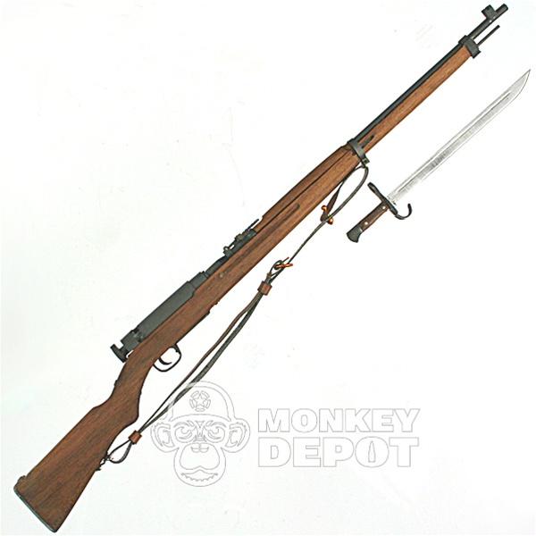 Rifle: Ti-Lite Japanese WWII Arisaka Type 38 Metal and Wood