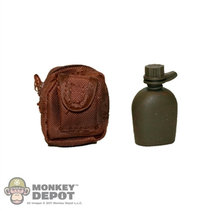 Canteen: Sideshow US Modern 1 Qt. w/ Pouch