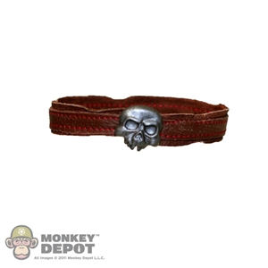 Belt: Sideshow Brown w/ Skull Buckle