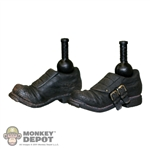 Boots: Sideshow Black Two-Buckle - Action