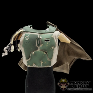 Armor: Sideshow Star Wars Mandalorian Chest Armor w/Wookie Pelts and Cape