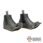 Feet: Sideshow Star Wars Mandalorian Boots (Action!)