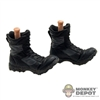 Boots: Sideshow US Modern Black Action Pose