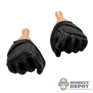 Hands: Sideshow Gloved Fists Grey/Black