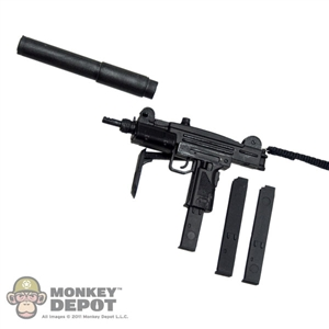 Rifle: Rifle: Sideshow Uzi XCR w/ Folding Stock and Silencer