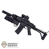Rifle: Sideshow Robinson Arms XCR w/ Grenade Launcher, Folding Stock