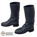 Sideshow Cobra Commander Grey Officer Boots w/Ankle Pegs