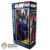 Display Box: Sideshow GI Joe Cobra Commander (EMPTY)