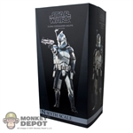 Display Box: Sideshow Star Wars Clone Commander Wolffe (EMPTY)