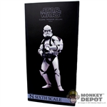 Display Box: Sideshow Star Wars Clone Trooper Shiny (EMPTY)