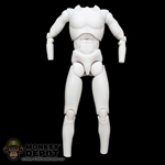 Figure: Sideshow Star Wars White Base (No Head, No Hands, No Feet)