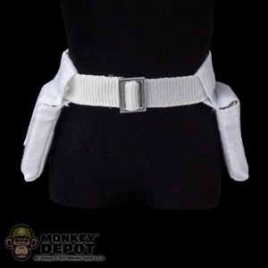 Belt: Sideshow Star Wars White Belt w/Pouches