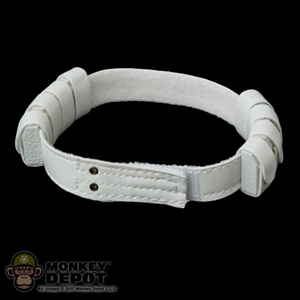 Belt: Sideshow Star Wars White Belt w/Small Pouches